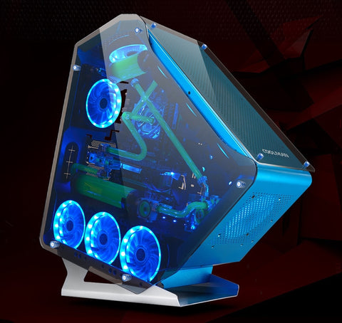Intel core i5/i7 4770k 3.5GHz Ram 8GB Aluminum water-cooling case and 23.6/27 inch monitor display