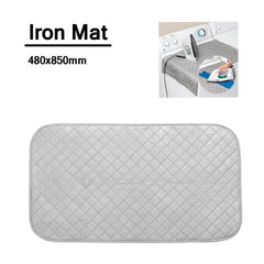 Ironing Mat Pad  Compact Portable Washer Dryer Cover Board Heat Resistant Blanket Mesh Press Clothes Protector
