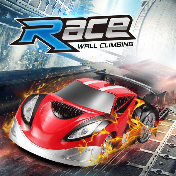 JJRC Q2 RC Car Toy For Children Mini Race Anti-gravity Infrared Wall Climbing Control Remote Car With LED Light  Toys