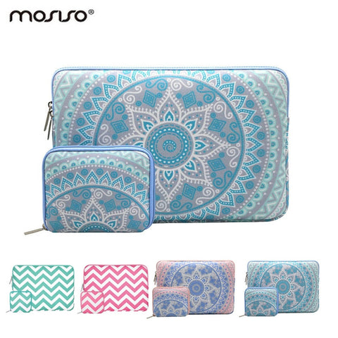 MOSISO 2018 Canvas Laptop Sleeve Case for Notebook Computer 11.6 13.3 15.6 inch Sleeve Case for Macbook Air Pro Retina/HP/Dell