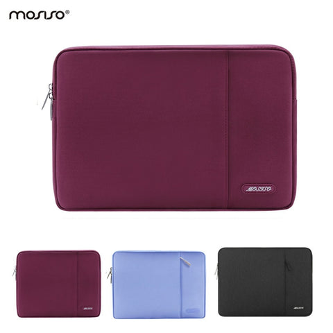 MOSISO New Laptop Sleeve 12 13 14 15 inch Laptop Bag Case for Macbook 12 Air 13 Retina Pro 13'' HP/Dell/Surface Notebook Bags