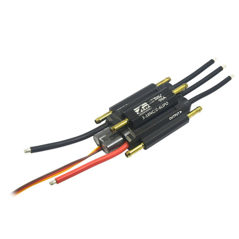 MYSTERY 90A 2-6S Lipo 5-18 NC 5.5V/3A Seal-Series Brushless ESC Electronic Speed Controller for RC Boat