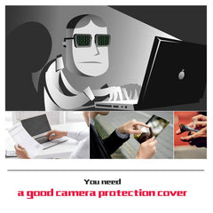 Metal Webcam Cover Web Camera Blocker Computer Phone Ultra-Thin Phone Adapter Accessories Pewdiepie Recommend FBI Block