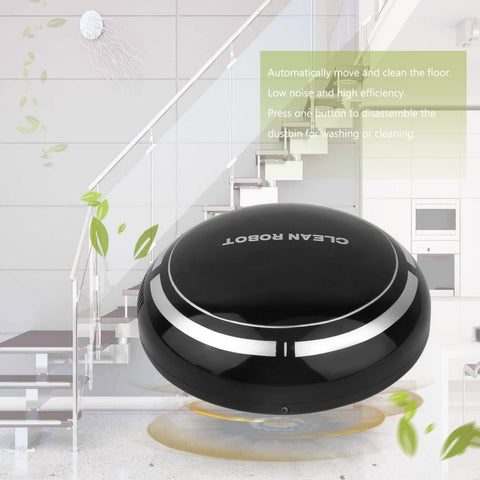 Mini Intelligent Electric Wireless Automatic Multi-directional Round Smart Sweeping Robot Vacuum Cleaner For Home