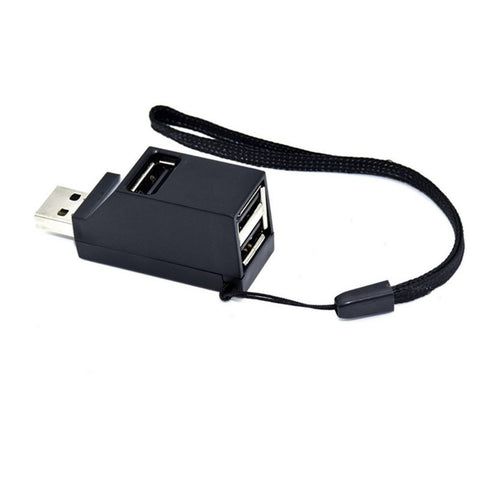 Mini USB 2.0/3.0 Hi-Speed Multi Port USB Hub Splitter Hub Adapter For PC Computer For Portable Hard Drives