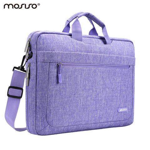 Mosiso 13.3 15.6 17 inch Laptop Polyester Messenger Bag for Macbook Pro Air Retina 13 15 Notebook Asus Acer Lenovo for Women Men