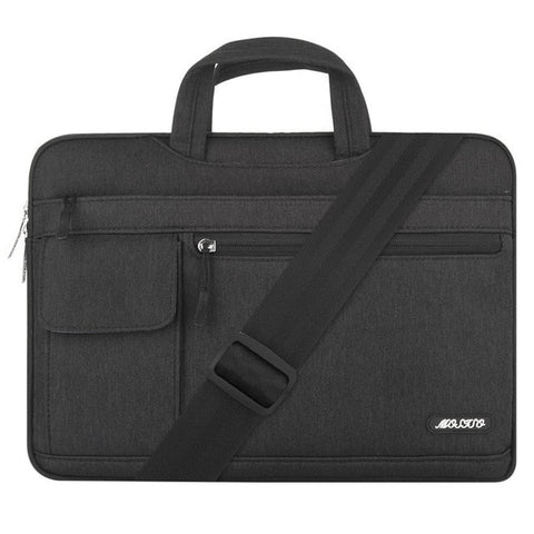 Mosiso Laptop 13.3 15 17.3 inch Polyester Messenger Bag for Macbook Pro/Air 13 15 17 Dell Asus HP Netbook Pouch Bag Accessories