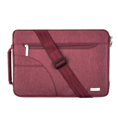 Mosiso Laptop 15.6 13.3 12 11 inch Shoulder Bag for Macbook Air Pro 13 15 Netbook Sleeve Case for Macbook/Dell/Acer/Asus/HP