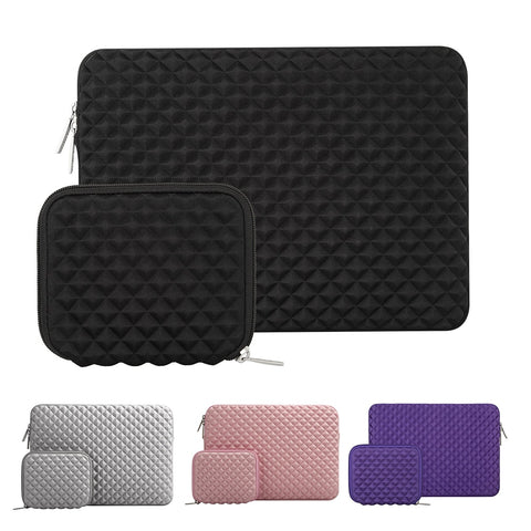 Mosiso Laptop Diamond 13-13.3 inch Sleeve Bag for Mac Book Pro 13 Air Acer Lenovo Dell ASUS Notebook Handbag Accessories