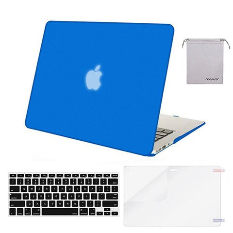 Mosiso Laptop Protector Shell Case for MacBook Air 13 2017 2016 2015 2014 2013 +Silicone Keyboard cover / Screen protector / bag