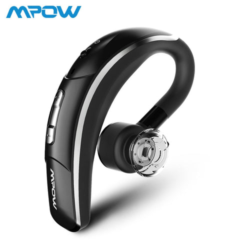 Mpow 028 Wireless Earbud Bluetooth 4.1 Headset Single Headphone 6H Talking Time With Microphone Hands-Free Call For Car Driver
