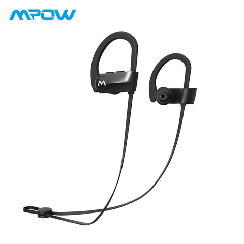 Mpow D7 Bluetooth Sport Headphone IPX7 Waterproof HD Stereo Wireless Earphones With Microphone For iPhone XS/X/8/7/6 With Case