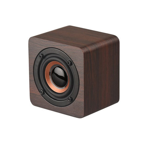 NEW Subwoofer Wireless Wooden Wood Wireless Bluetooth Mini Sealed Speaker HIFI Stereo Bass Speaker Dropshipping #Y8