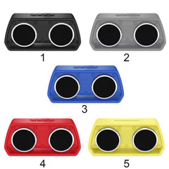 NR-2024 Wireless Car Outdoor Bluetooth Speaker Wireless outdoor Bluetooth Speaker Mobile Computer Car Subwoofer Portable Card