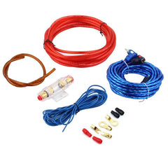 New 800W 8GA Car Audio Subwoofer Amplifier AMP Wiring Fuse Holder Wire Cable Kit Hot Selling Free Shipping Top