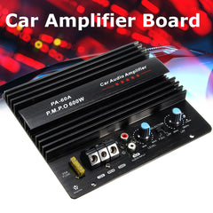 New Audew 600W Car Mono Amplifier Board Home Vehicle Subwoofer Speaker Super Bass Auto Audio Subwoofers Amp Car Audio Stereo