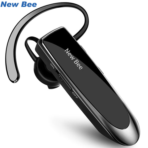 New Bee Bluetooth Headset Bluetooth Earphone Hands-free Headphone Mini Wireless Headsets Earbud With Mic For iPhone xiaomi