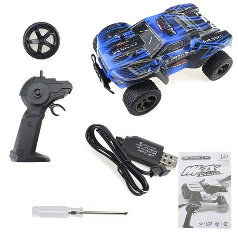New Fashion Vehicle 2811B 1:20 2.4GHz Climbing Bike Vehicle Remote Control Off-road Car