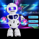 New Smart Space Dance Robot Electronic Walking Toys with Music Light Christmas New Year Gift for Kids Astronaut Toy To Child