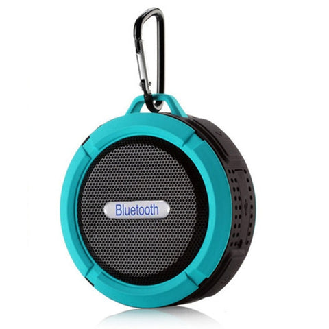 New Waterproof Portable Bluetooth Speaker sucker Wireless Bathroom soundbar Handfree Subwoofer Audio Car Speaker with Mic TSLM1