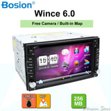 New universal Car Radio Double 2 Din Car DVD Player GPS Navigation In dash Car PC Stereo Head Unit video+Free Map subwoofer