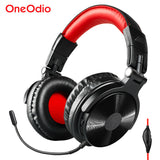 Oneodio Wireless Bluetooth Gaming Headset Headphones With Extended Microphone Noise Canceling Bluetooth V4.1 Headphone Handsfree
