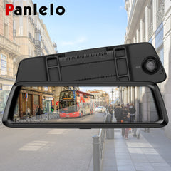"Panlelo Car DVR GPS Navigator Camera 3G /4G 10""Android Stream Media Rear View Mirror FHD 1080P GPS Mirror GPS Dash Cam Recorder"