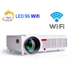Poner Saund LED96 wifi led projector 3D android wifi hd BT96 proyector 1080p HDMI Video Multi screen theater Home theater system