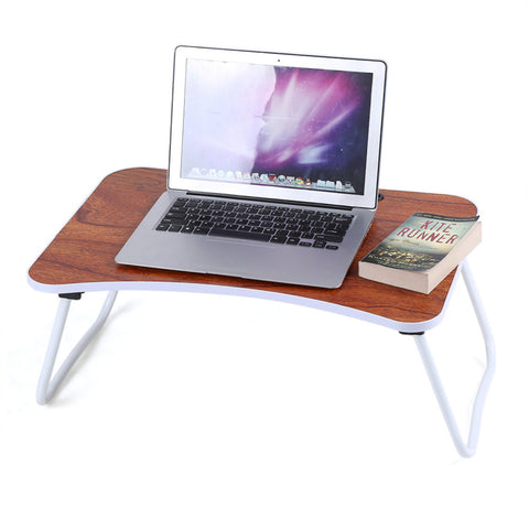 Portable Multi-purpose Folding Laptop Bed Desk Portable Standing Table Breakfast Stand Bed Tray Home Furniture Accessories