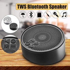 Portable Wireless Speaker TWS Bluetooth Speaker Stereo Music Hands-free Call Waterproof Subwoofer Soundbar for Home Office Car