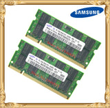Samsung Laptop memory 4GB 2x2GB 800MHz PC2-6400 DDR2 Notebook RAM 4G 800 6400S 2G 200-pin SO-DIMM