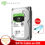 "Seagate 1TB Desktop HDD 3.5"" Internal Hard Disk Drive 7200RPM SATA 6Gb/s 64MB Cache HD Hard drive 1TB For Desktop Computer"