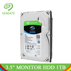 Seagate 1TB Video Surveillance HDD 3.5 Internal Hard Drive For Computer Hard Disk 1TB 5900RPM SATA 6Gb/s Monitoring Security