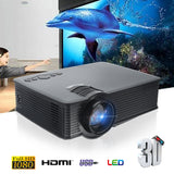 Thinyou GP-9 3000 Lumens WIFI LED Projector Black Mini Projector HDMI Digital Home Theater support multiple extensions