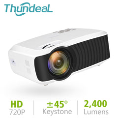 ThundeaL T23K Mini Projector 2400 Lumens 1280*720 Portable Video HD T4 Mini Beamer HDMI VGA Home Theater Optional T22 Projector