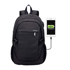 USB Charge Backpack Male Mochila Escolar Laptop Backpack Men Women School USB Bags Business Anti-Thief Backpack Teens  #YL5