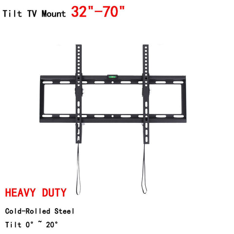 "Universal Tilting Plasma LCD LED TV Bracket Ultra HD TV Wall Mount Bracket Fit for 32""-70"" Max Support 50KG Weight"