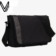 VEEVANV Designer Men's Buisness Crossbody Bag Attache Laptop Case Office Briefcase Postman Men Messenger Bag Casual Shoulder Bag