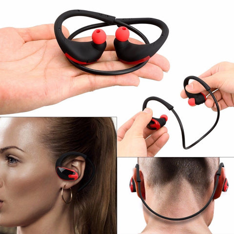 WLNGWEAR Bass Bluetooth Earphone Wireless Headphones With Mic Sports Stereo Bluetooth Headsets For Phone Headset Gamer
