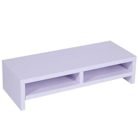 Warehouse Desktop Monitor Stand TV Laptop Rack Computer Screen Riser Shelf Desk Purplish Computer Monitor Riser Accessories