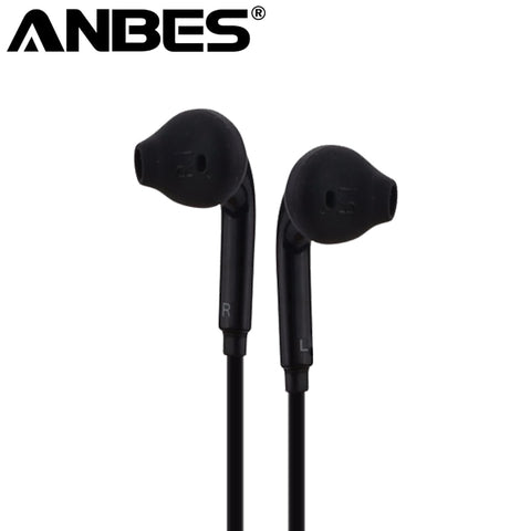 Wired Headphone for Smartphones PC Laptop 3.5mm S6 Earphone Music Stereo Headset with Microphone For Samsung Xiaomi audifonos