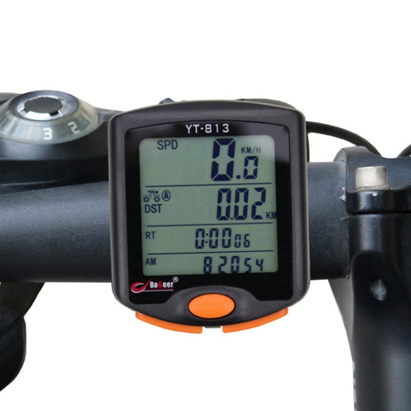 Wireless Bike Cycling Bicycle Computer Odometer Backlight LCD Speedometer Riding Accessories Hot Sale