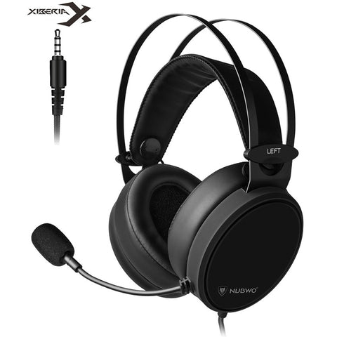 Xiberia Nubwo N7 PS4/New Xbox One Headset PC Casque Bass Stereo Gaming Headphones for Mobile Phone Computer TV Tablet With Mic