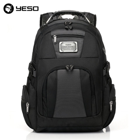 YESO Large Capacity Laptop Backpack Men Multifunction Waterproof 15.6inch Backpack For Teenagers Business Casual Travel Backpack