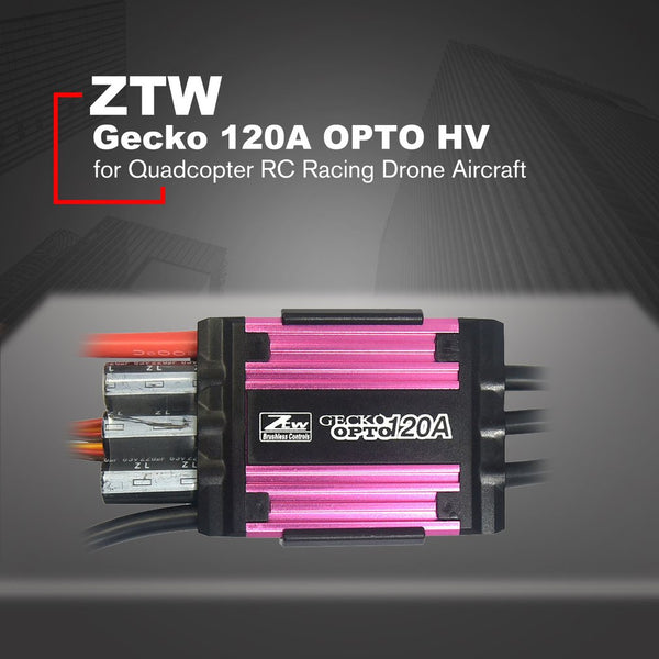 ZTW Gecko 120A/150A OPTO HV Brushless ESC Electronic Speed Controller for Remote Control RC Racing Drone Aircraft Quadcopter