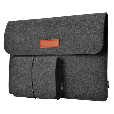 "dodocool 12"" 13 Inch Laptop Bags Felt Sleeve Envelope Cover Ultrabook Carrying Case Notebook Protective Bag for MacBook Air Pro"