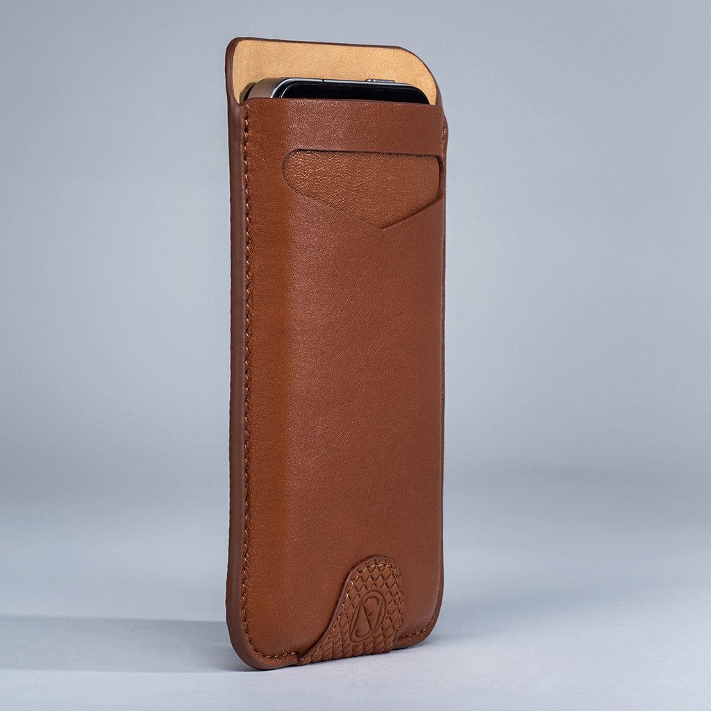 Card Sleeve - Tan