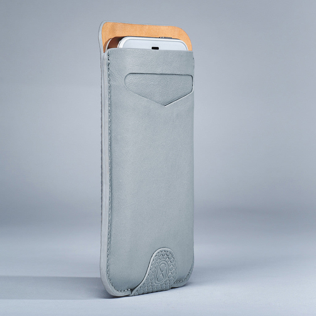 Card Sleeve - Dove Grey