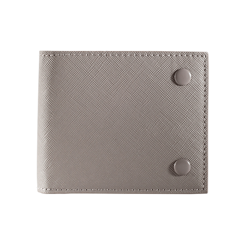 SLIM WALLET - Taupe Saffiano