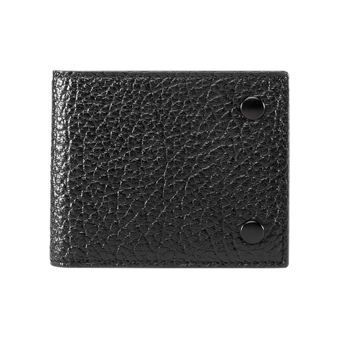 SLIM WALLET - Black High Grain
